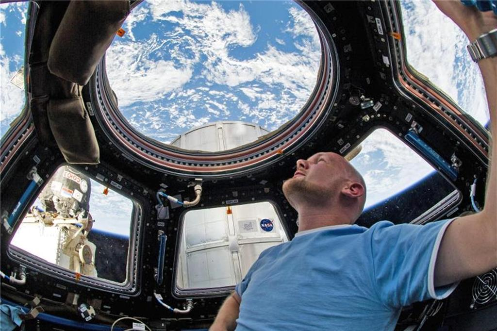 """Astro-Alex"" Superstar: ISS-Commander mit besonderer Mission"