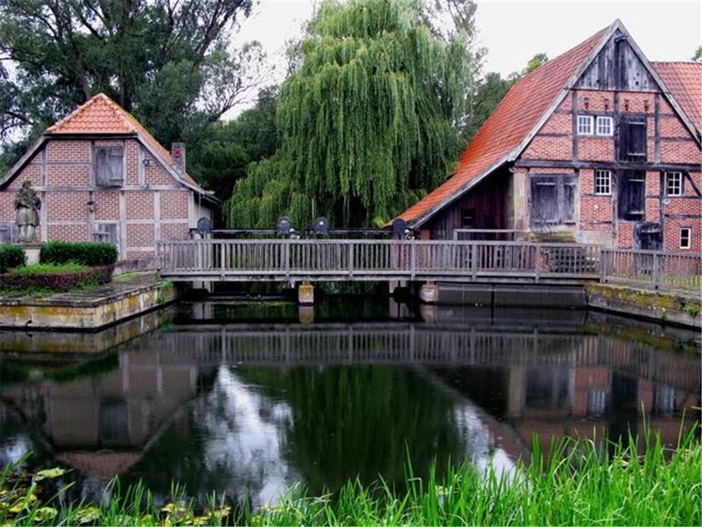 Mühle als Kunstzentrum
