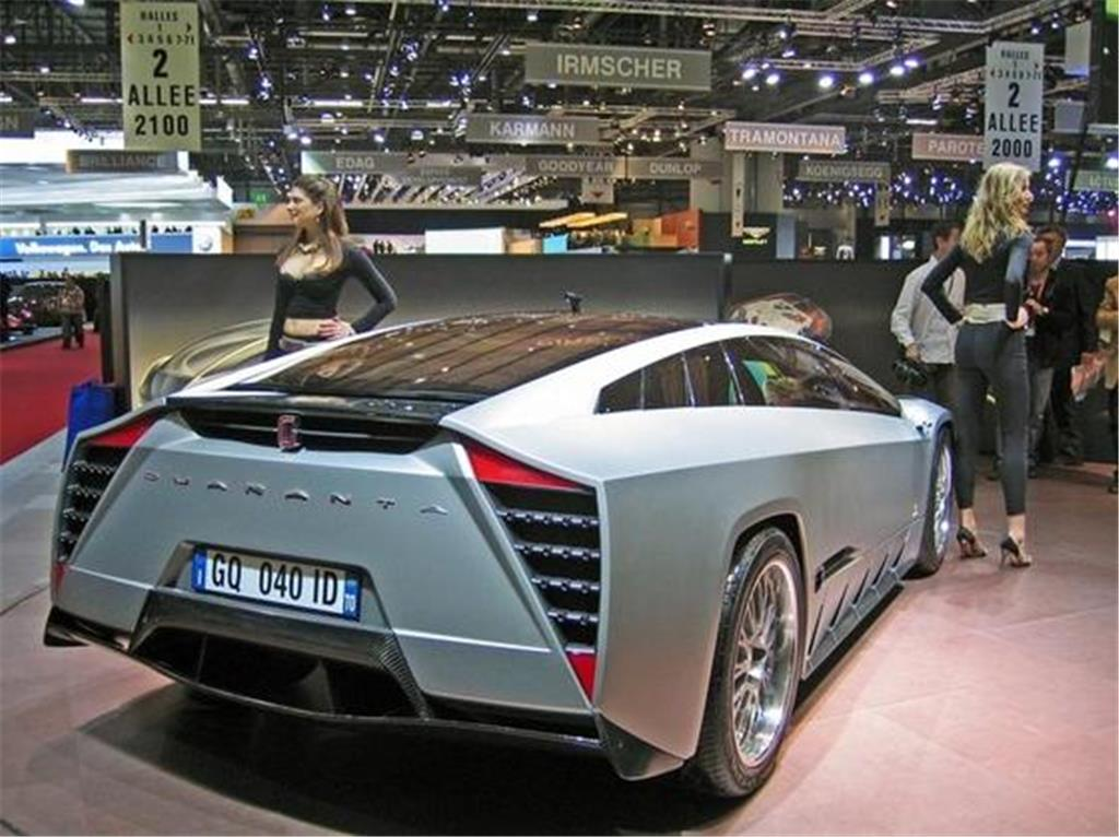 Italdesign Quaranta: Studie eines Öko-Supersportwagens