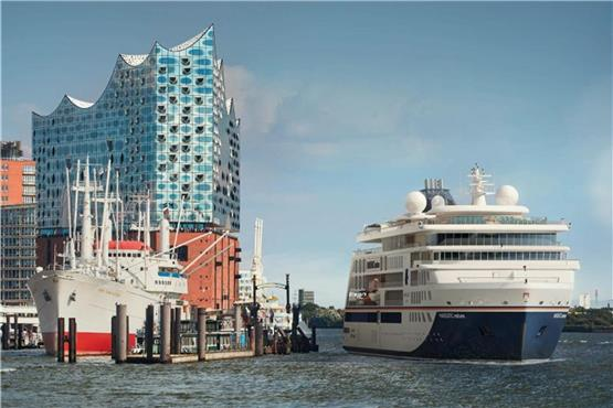 "Taufe der ""Hanseatic nature"" am 12. April 2019 in Hamburg"