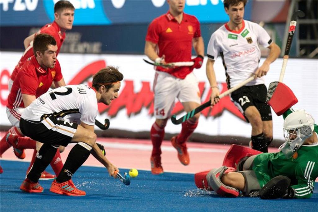 Hockey-Herren starten mit Sieg ins World-League-Finale