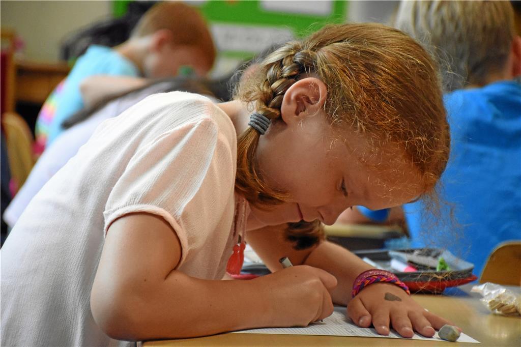 So lernen Kinder in der St.-Marien-Schule lernen