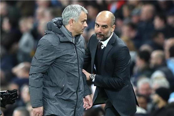 Derby-Kracher in Manchester: Mourinho will Guardiola stoppen