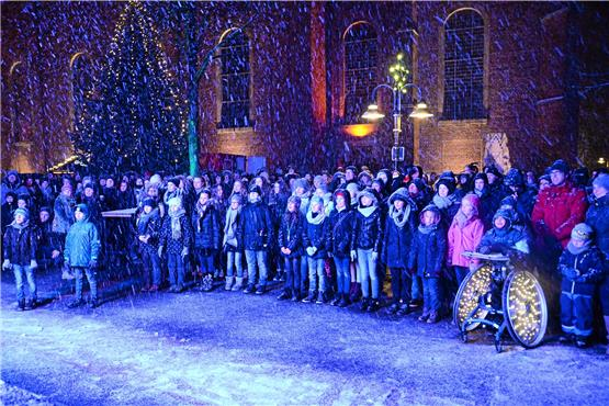 Young Voices singen im Finale