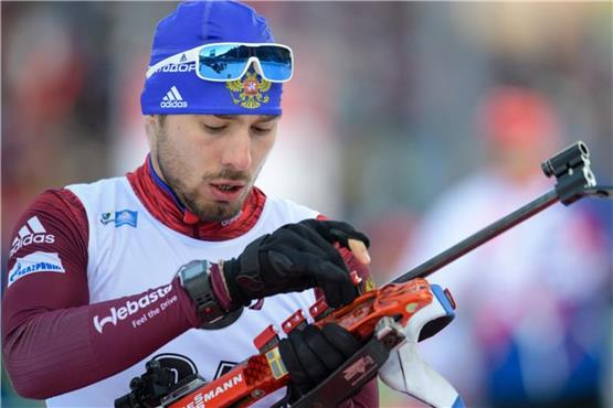 Russe Schipulin gewinnt Biathlon-Sprint in Kontiolahti