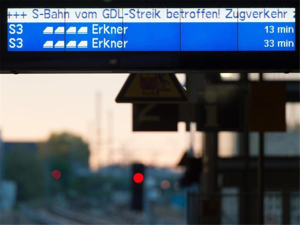 Bahnstreik Karlsruhe