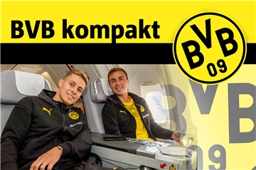 18. Juli: BVB auf USA-Reise - Flug nach Chicago und Training in South Bend