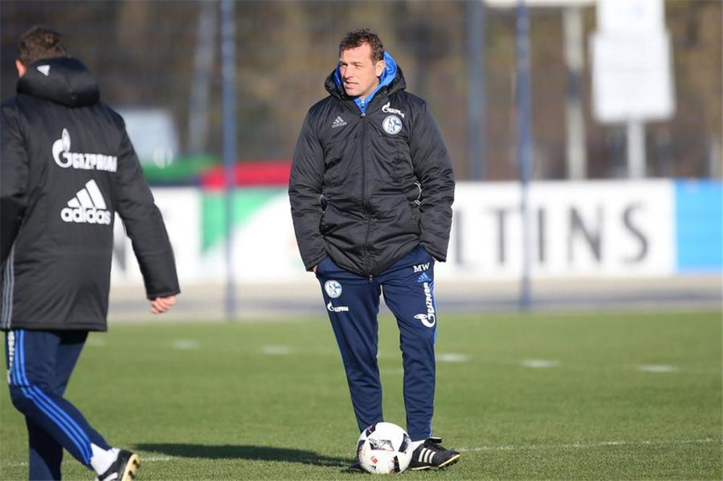 Bilder des Schalke-Trainings am 25. November.