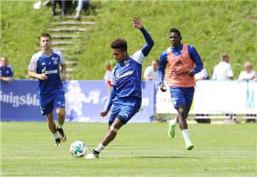 Bilder des Schalke-Trainings am 28. Juli in Mittersill.