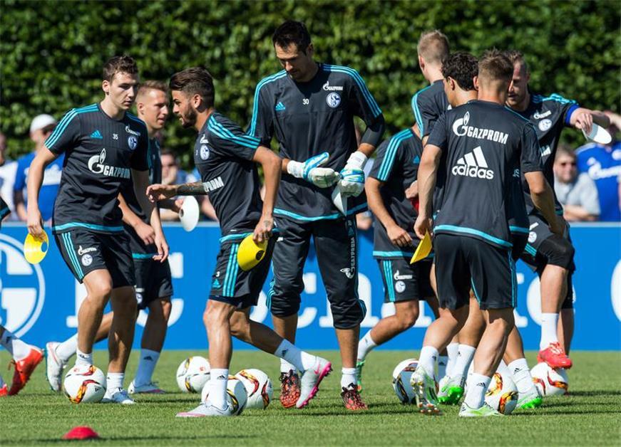 Schalke Training