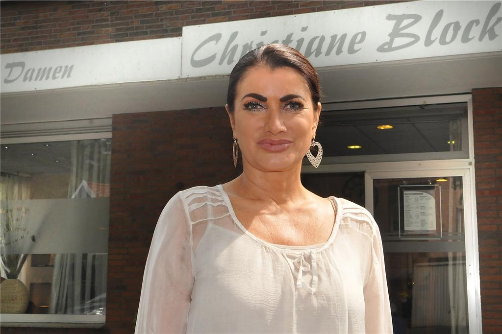 Christiane Block vom Friseursalon Chris B. aus Sythen (Archivbild).
