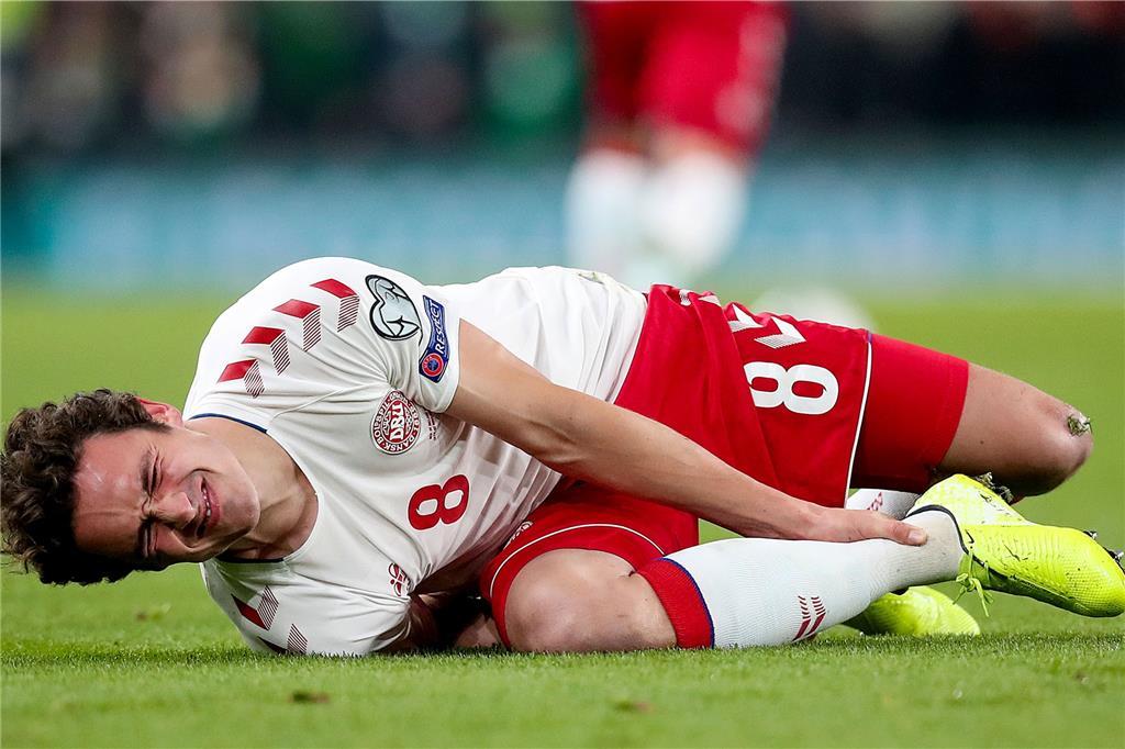 Verletzte Bundesligaspieler