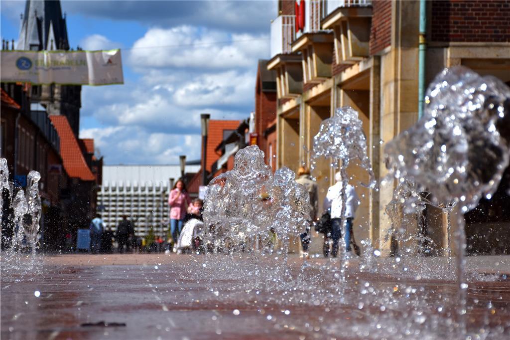 """het plan """"Model gemeente"""" Hij valt letterlijk in het water.  De deelstaat Noordrijn-Westfalen koppelde het project aan extreem hoge voorwaarden.  De stad Ahaus trok haar verzoek in."""