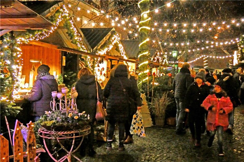 Weihnachtsmarkt Im Münsterland