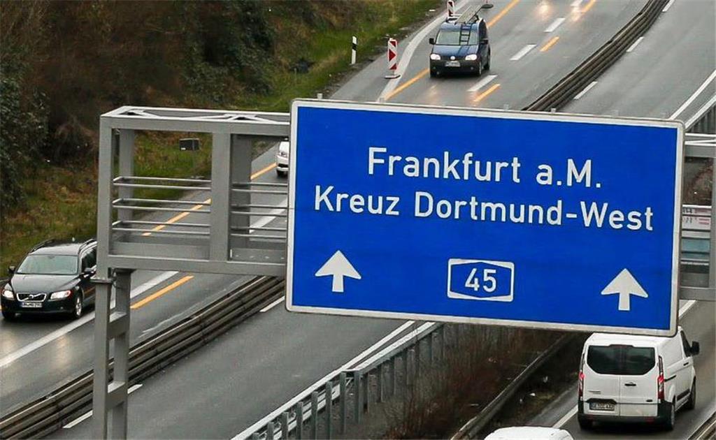 Staumelder A45 Richtung Frankfurt