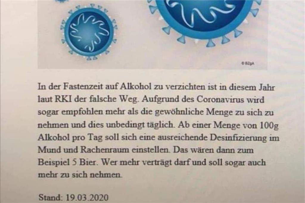 Robert Koch Alkohol Fastenzeit