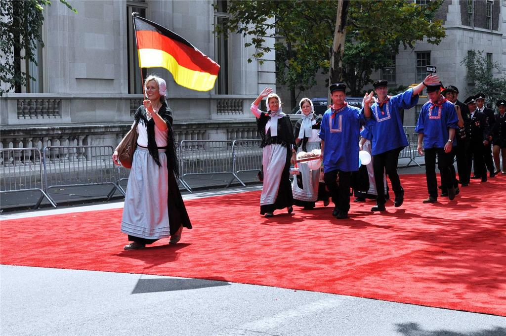 Heeker bei der Steubenparade in New York