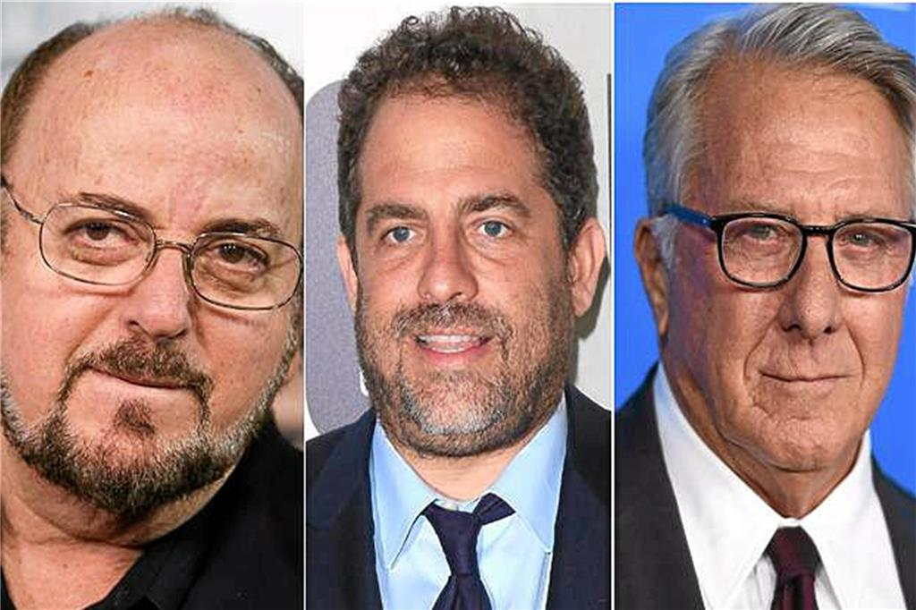 James Toback, Brett Ratner und Dustin Hoffman.
