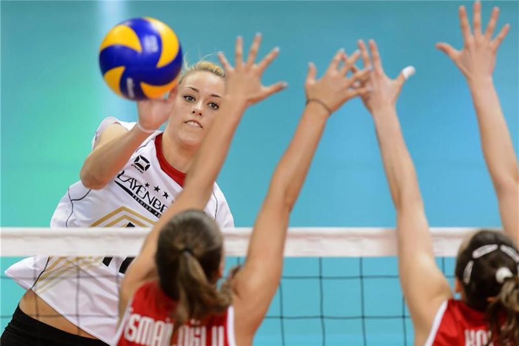 Volleyballerin