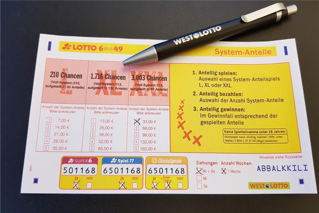 Lottofreude Darf Geteilt Werden