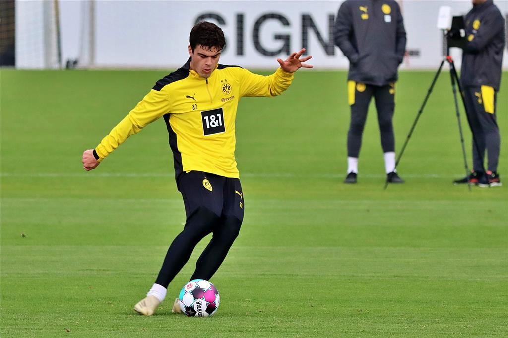 Treffsicher: BVB-Youngster Giovanni Reyna.